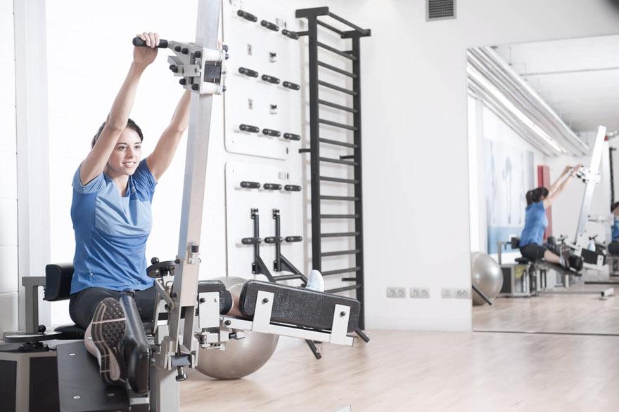 Entrenamiento de flexibilidad: nueva máquina de estiramientos