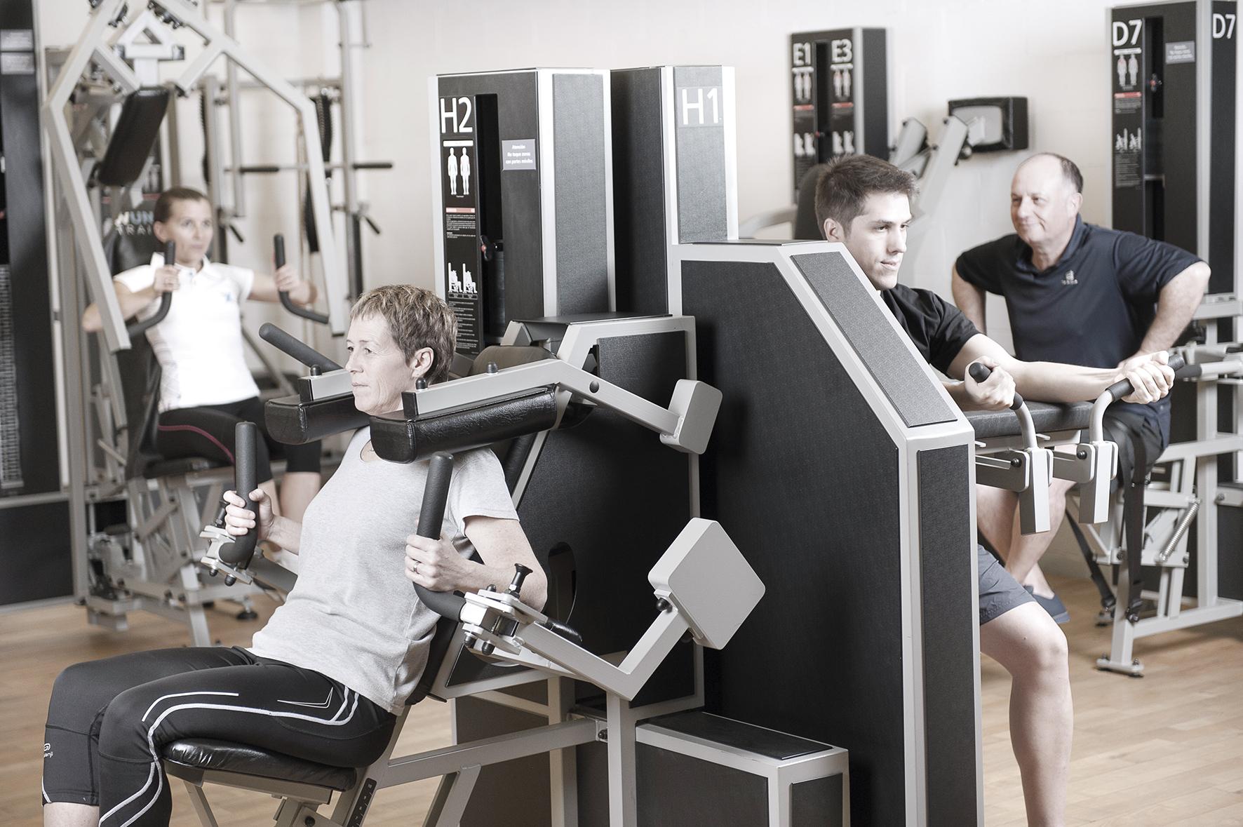 Máquinas de entrenamiento: las protagonistas de Wunder Training