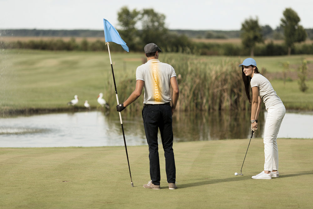 preparación física en golf