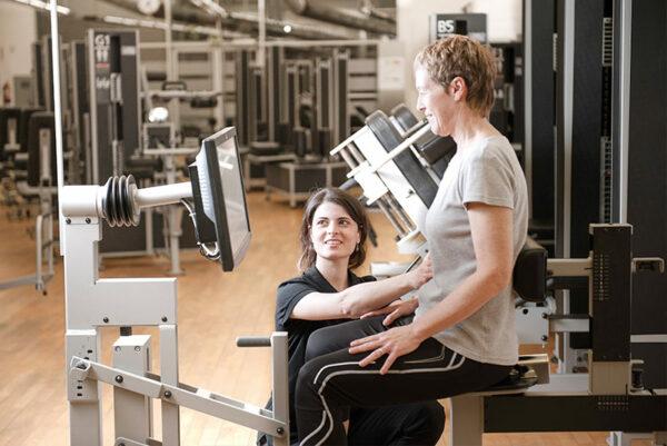 Máquina para el fortalecimiento del Suelo pélvico en Wunder Training