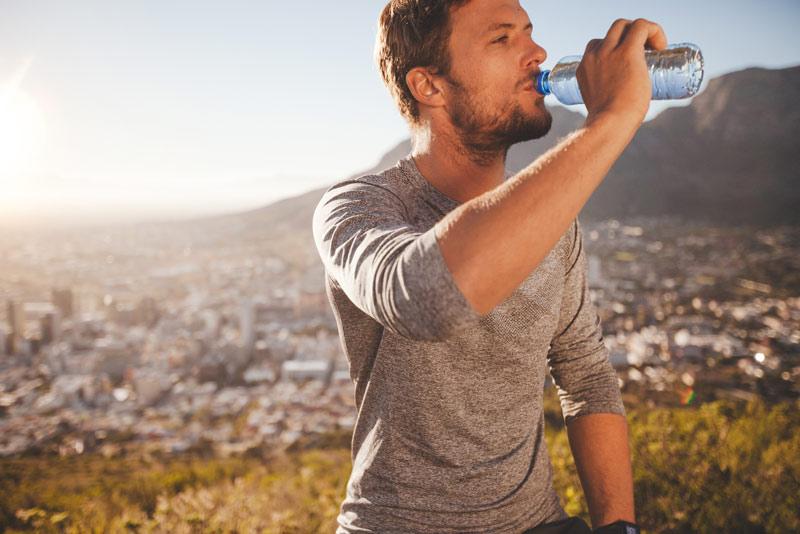 La importancia de la hidratación en el deporte