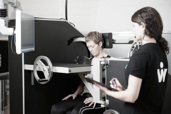 Máquina tratamiento dolor cervical