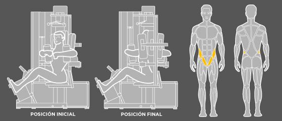 Ejercicios de espalda - F1 Rotación de torso Wunder Training
