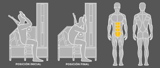 entrenament esquena - F2 Abdominals Wunder Training