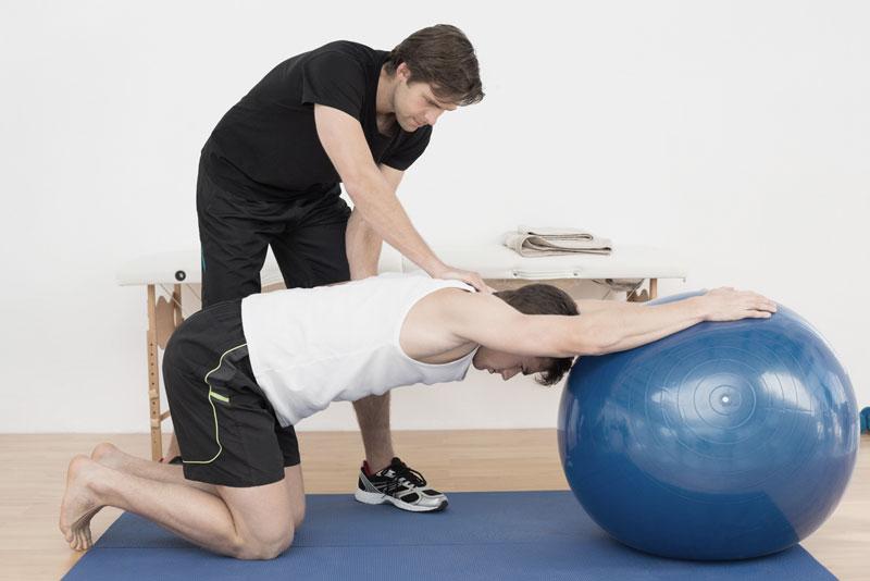 Fisioteràpia per al tractament de l'hernia discal