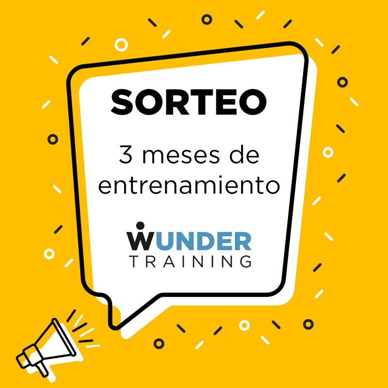 Sorteo instagram de Wunder Training