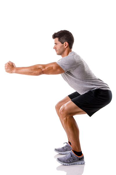 Sentadillas (squats):
