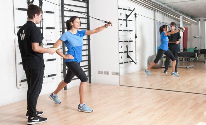 Ejercicios para el entrenamiento funcional en Wunder Training