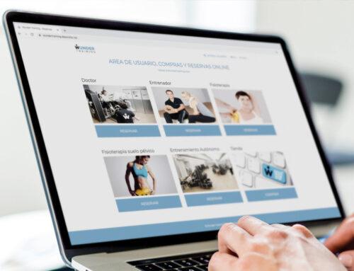 Reserva online tus sesiones de entrenamiento personal, fisioterapia, osteopatía, suelo pélvico y visitas médicas desde la web de Wunder Training